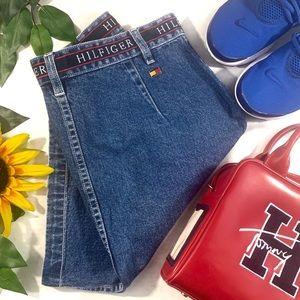 Vintage Tommy Hilfiger High Waisted Denim Skirt